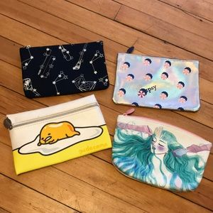 Ipsy Cosmetic Bag Bundle